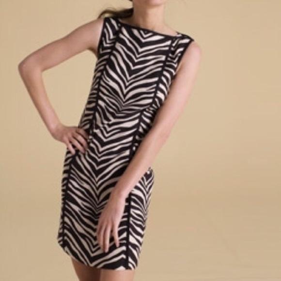 7f02d4d31e J. Crew Dresses   Skirts - J. Crew linen zebra print sheath dress size